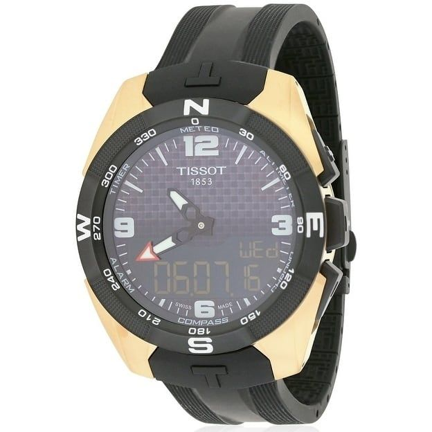 Tissot T-Touch Expert Solar NBA Special Edition Rubber Mens Watch T0914204720700