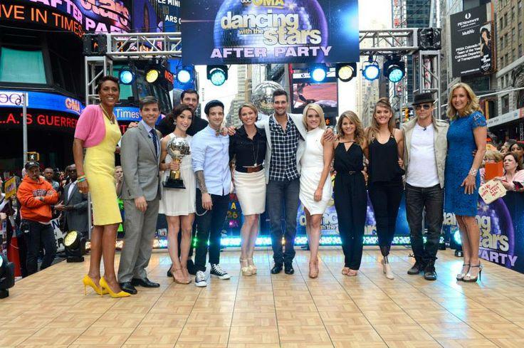 Season 18 #DWTS cast on Good Morning America.
