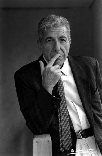 Leonard Cohen 2001