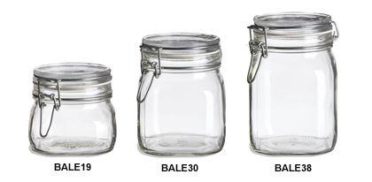 Specialty Bottle - Swingtop Bale Glass Jars