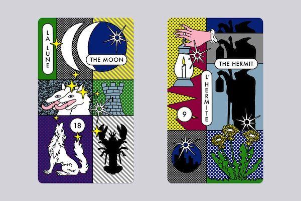 Kenzo t5 900 Kenzo Psy Chic Tarot Cards