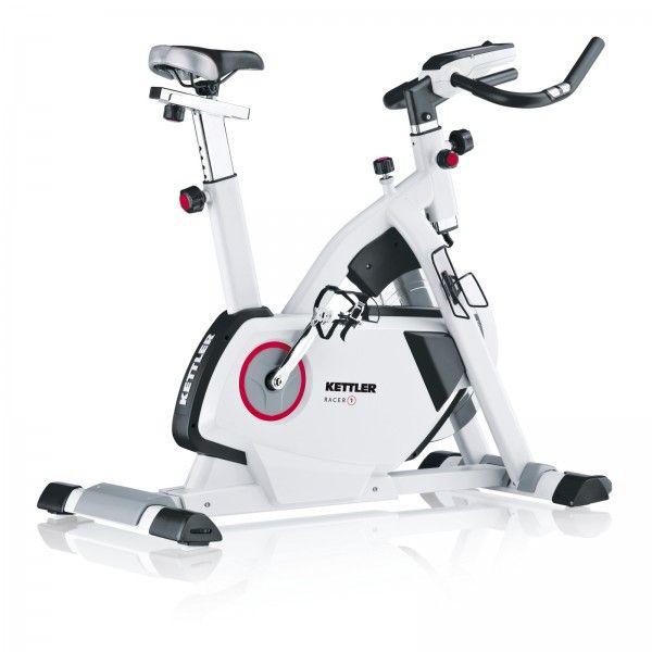 Solides Indoor Bike für den Trainingseinstieg | Kettler Biketrainer Racer 1 kaufen im Heimtrainer Online Shop