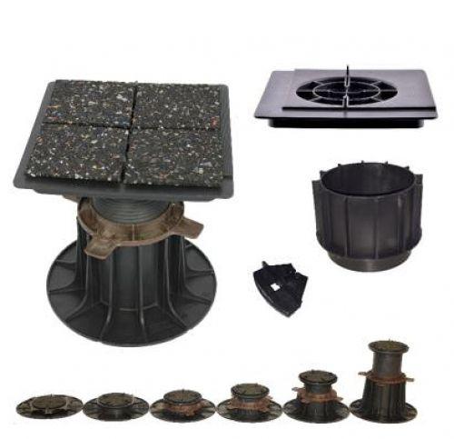 Porto-Stellfüße für Stein-/Keramikplatten - ferax ® Klebstoffe + Dichtstoffe