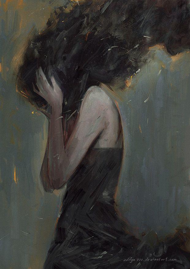 Anxiety 140911 by aditya777  Visions  Pinterest