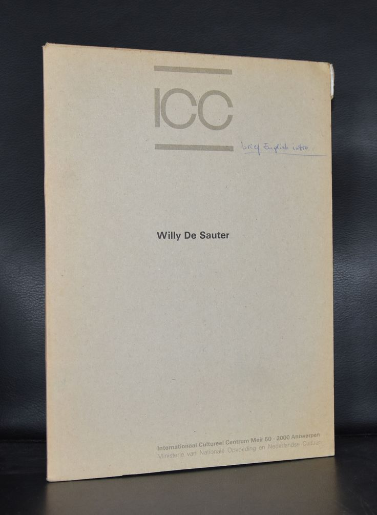 ICC # WILLY DE SAUTER # 1979, nm