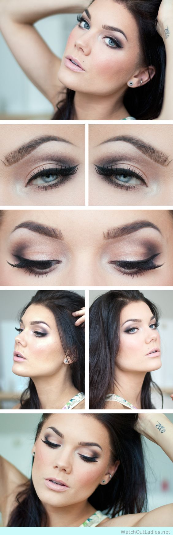 best make up u hair inspiration images on pinterest beauty