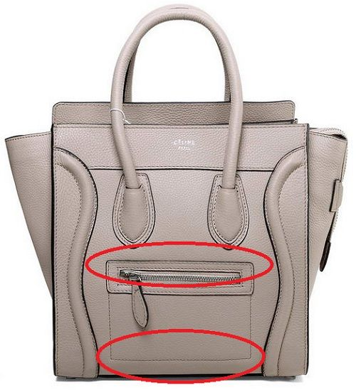 How To #Spot Bad #Celine #Luggage Replica Purses \u2013 Part 1 ...