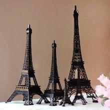 30 cm de altura negro fresco de moda de parís Torre Eiffel recuerdos modelo decoración del hogar del ornamento carre aleación artesanía de Metal regalo(China (Mainland))