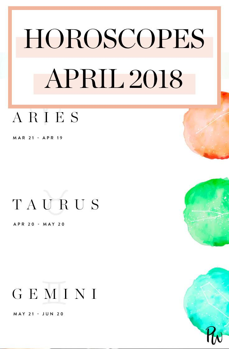 Your April Horoscope Is Here | Astrology and Zodiac Signs | April