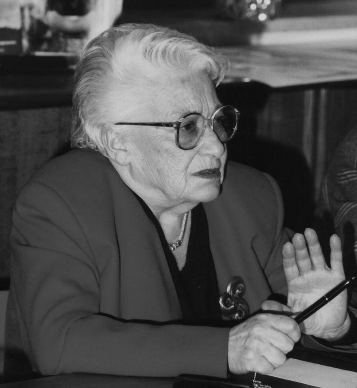 Lidia Rolfi Beccaria, partigiana, internata nel lager di Ravensbruck