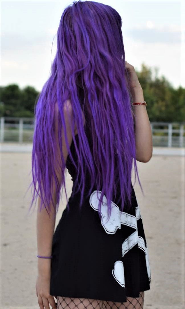 Ombre Violet Purple Hair Dye kit by resauvi - #haircolor #hairdye #hairstyle