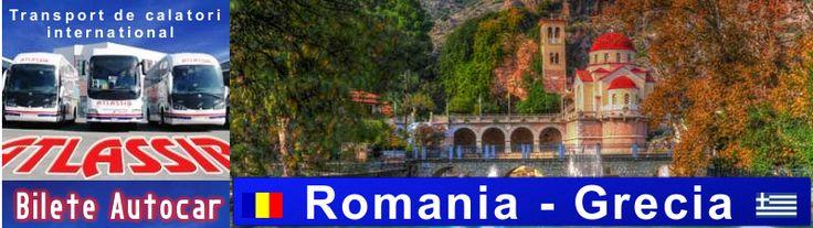 Bilete de Autocar Romania Grecia, Rezervari Bilete de Autocar Grecia