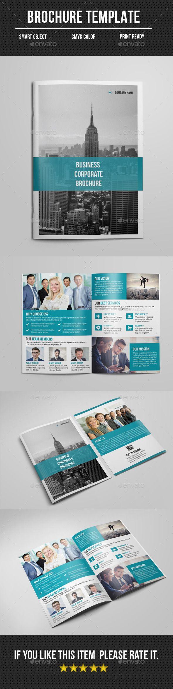 Corporate Bi- Fold Brochure Template #design #printdesign Download: http://graphicriver.net/item/corporate-bi-fold-brochure/12105215?ref=ksioks
