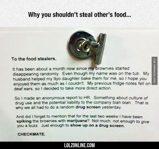 Never Mess With Other People's Food#funny #lol #lolzonline