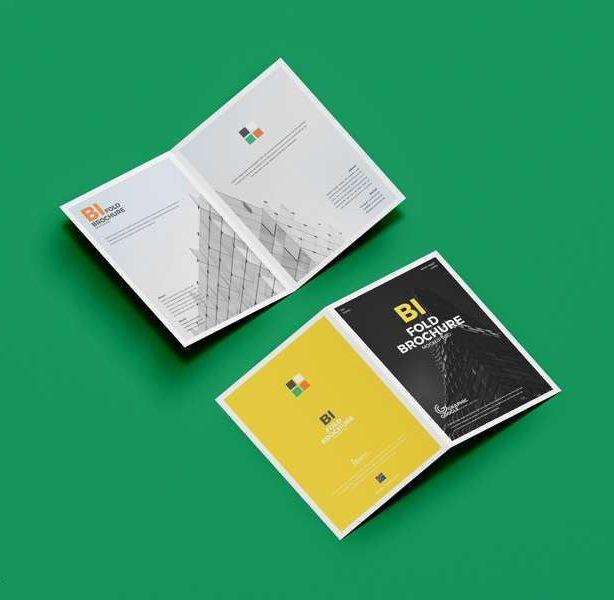 Free A4 Bi Fold Brochure Mockup Psd Brochure Mockup Psd Bi Fold Brochure Mockup Psd