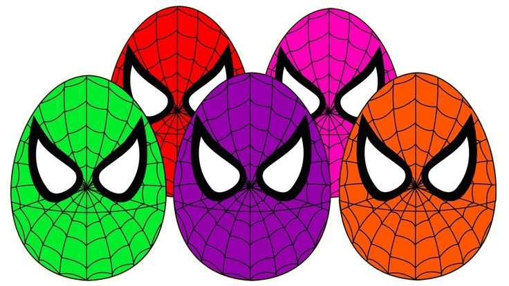 Learn Colors with Balloons for Kids Colors Spiderman Eggs Finger Family ...