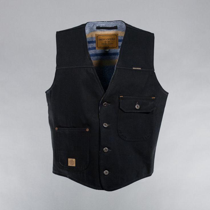 Floyd Vest by Indigofera - Burg & Schild