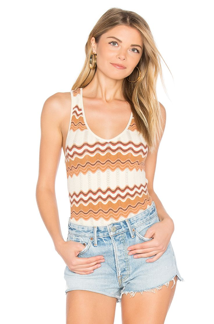 ale by alessandra Thais Knit Bodysuit in Rosewood