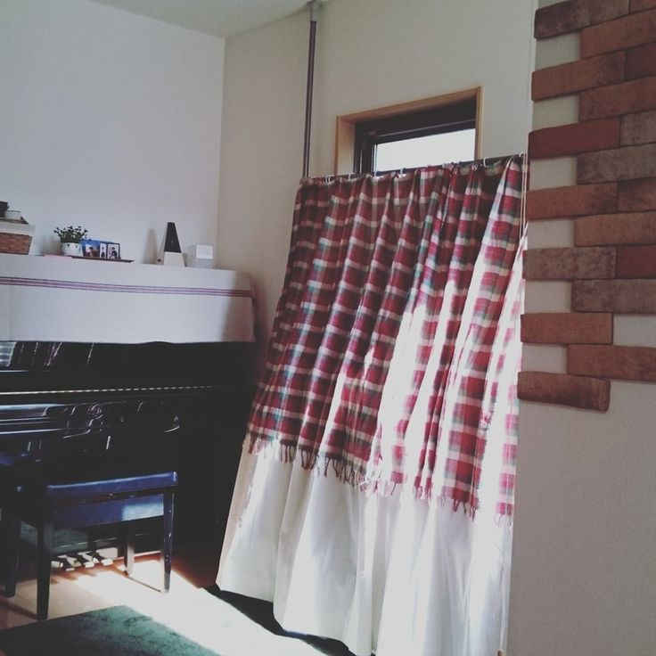 オープンラックにカーテンをつける方法いろいろ。|LIMIA (リミア) 突っ張り棒を活用する