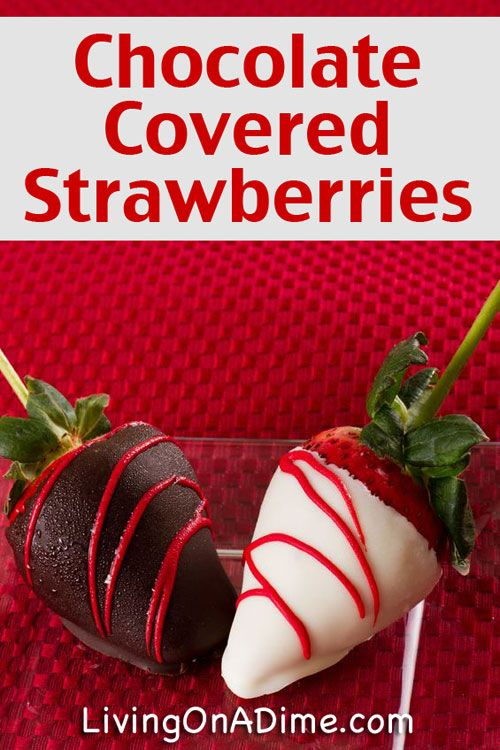 Chocolate Covered Strawberries Recipe - 10 Easy Valentine's Day Candy and Treats Recipes