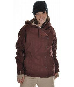 Stay warm and dry this season, wear the 686 Smarty Rogue Snowboard Jacket for women and ride in comfort and style. This 686 snowboard jacket is waterproof and breathable, with taped seams and a reversible Polyfill Smarty liner, which will all work together to keep the elements out, while allowing excess heat to escape. A goggle stash pocket gives you the perfect place to store goggles when they aren't needed, while a mobile stash pocket and zippered sleeve pocket are the perfect place to ...