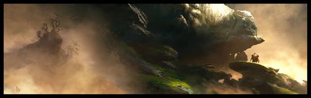 Croods: Fog | Leighton Hickman Art
