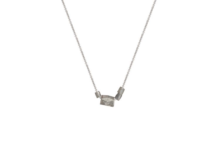Olly and Rose Cigar Diamond Necklace