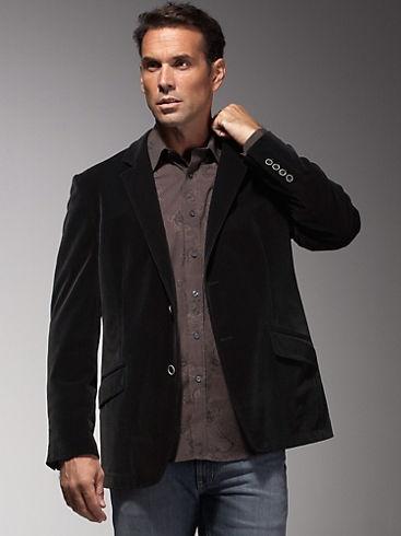 Andrew Fezza Black Sport Coat Men's Wearhouse Sport Coats & Vests - Mens -