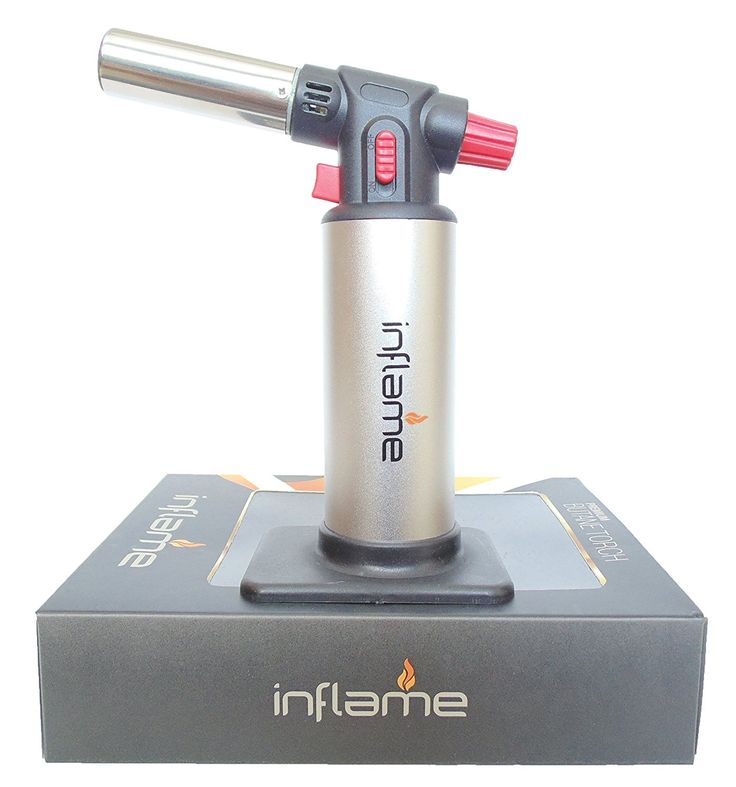Inflame Butane Culinary Torch for Home Kitchen and Chefs. Blow Torch for Brazing, Soldering, and Jewelry Making. FREE Creme Brulee Recipe Included! >>> Details can be found at : Baking Accessories
