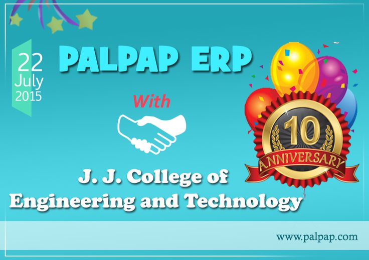 PALPAP EPR 10TH YEAR ANNIVERSARY @ JJ COLLEGE OF ENGINEERING AND TECHNOLOGY