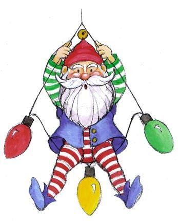 CHRISTMAS ELF CLIP ART #clipart