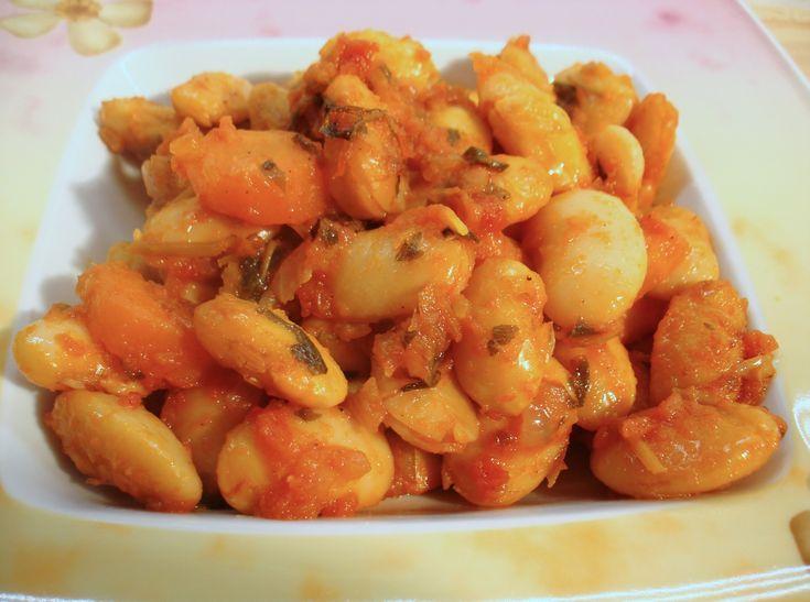 Giant Baked Beans - Fasolia Gigantes - Traditional Greek Recipe