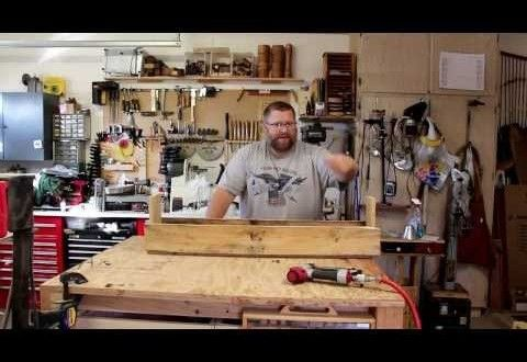 3 minute pallet wood garden planter box that you can build. | Woodworkingguides.info