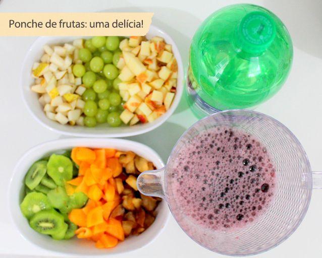 ponche de frutas                                                                                                                                                      Mais