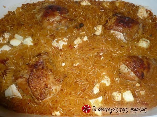 Κοτόπουλο γιουβετσάκι με σπυρωτό κριθαράκι #sintagespareas
