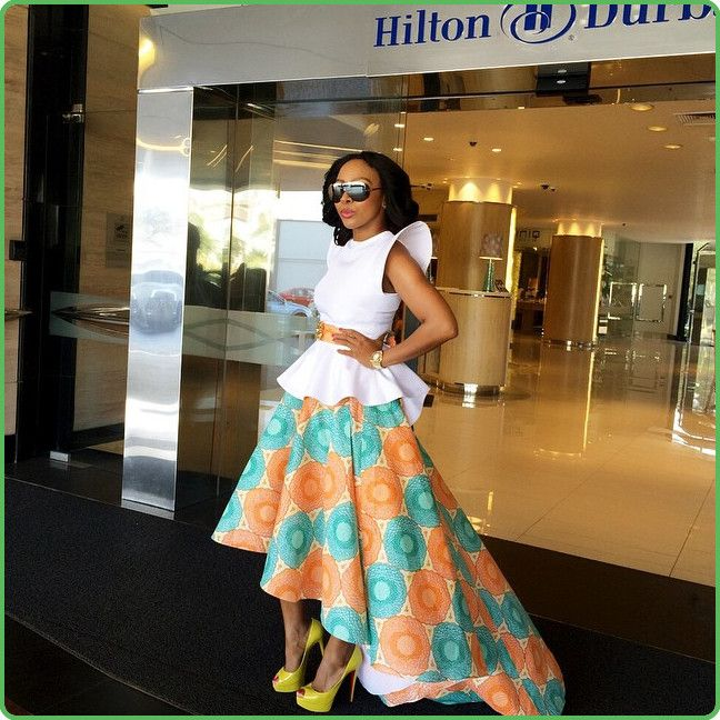 ~African Prints, African women dresses, African fashion styles, african clothing ~DK