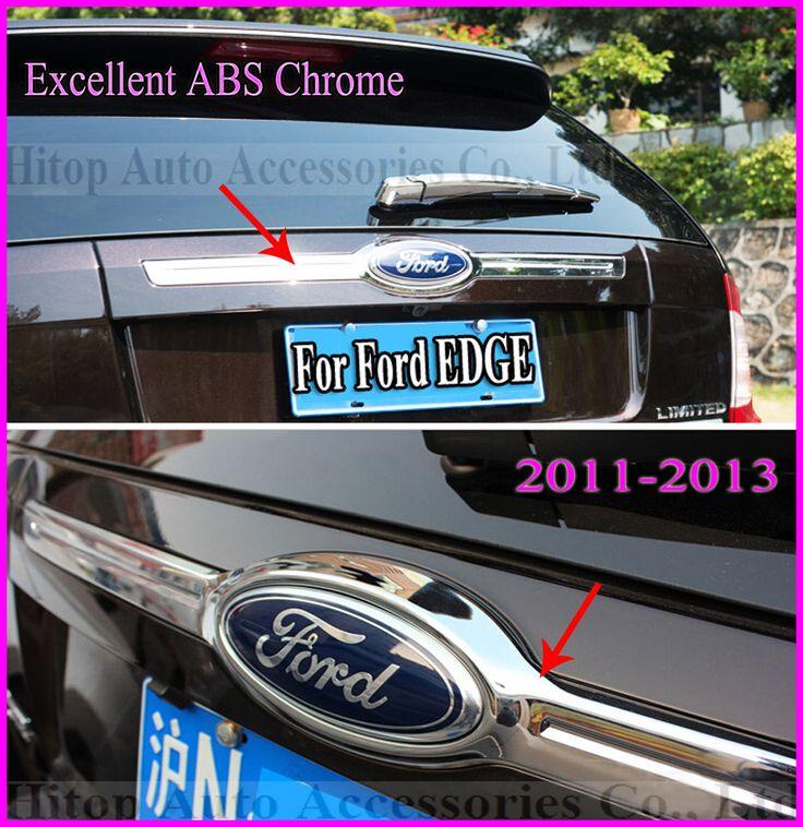 КРАЙ заднего багажника хром крышка/задний люк хвост ворота/Задняя Крышка Багажника, отлично ABS + хром, низкая прибыль, 2012-2015, свободный корабль!