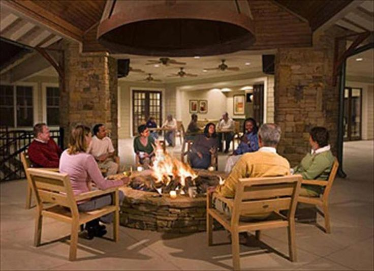Indoor Fire Pit Pictures Design And Ideas Lakehouse