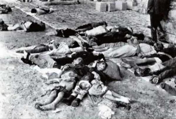 The massacre in Distomo 7/06/1944.