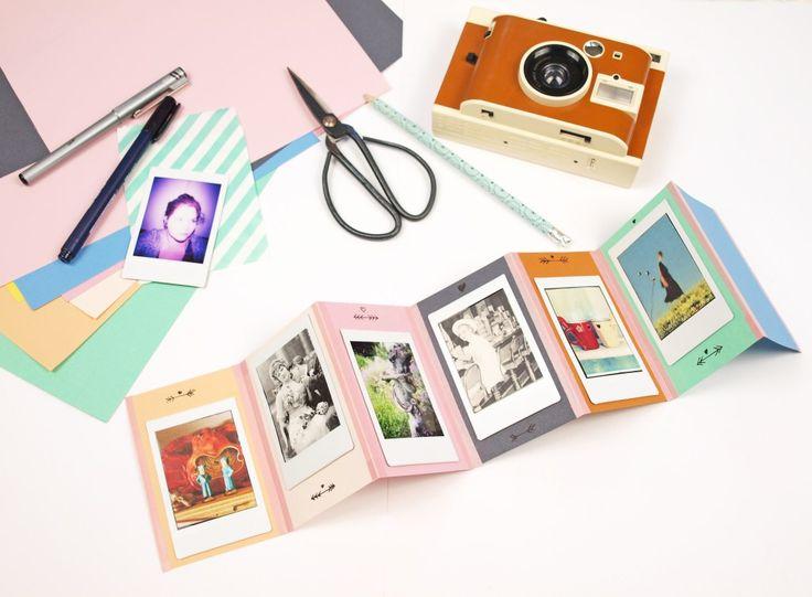 Geschenkidee: DIY Foto-Leporello und Lomo' Instant Kamera