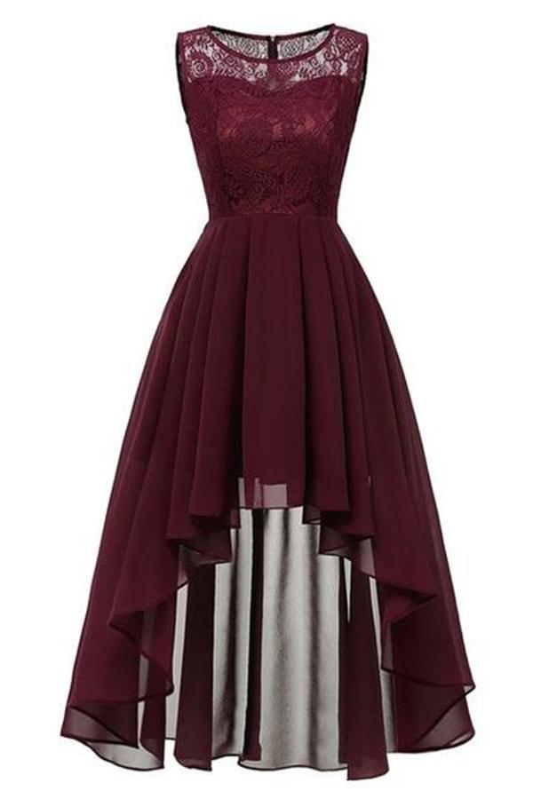 Women  Chiffon Lace Long Dresses