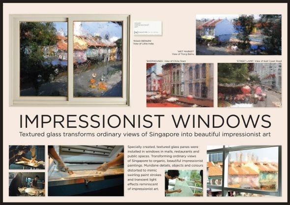 Vue Privée Gallery: Impressionist Windows