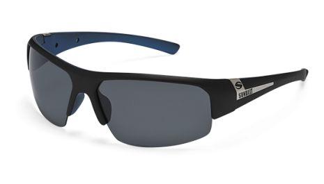 Sandbar - Black/Blue Frame // Grey Lens