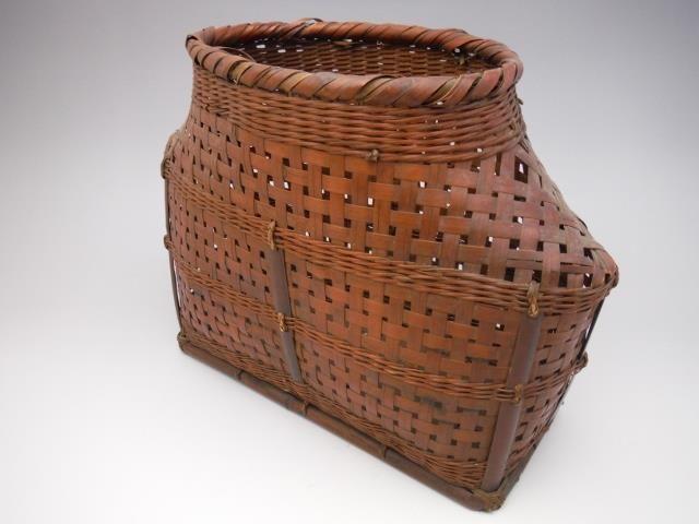Japanese Flower arrangement (IKEBANA) Bamboo basket 042008mk   Antiques, Asian Antiques, Japan   eBay!