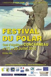 16ème édition Festival Le Chien Jaune/ Festival du polar de Concarneau (29900) : 23-25/07/2010