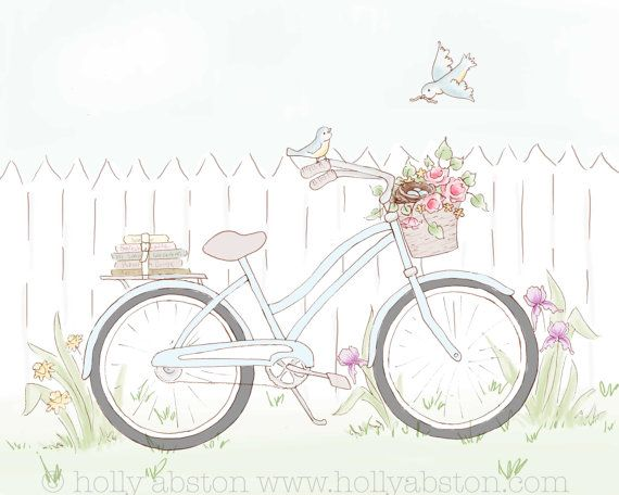 511 Best images about Bikes illustrations on Pinterest | Bicycle ...