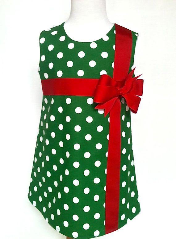 Christmas Dress Toddler Christmas Dress Girls by 8thDayStudio, $32.00