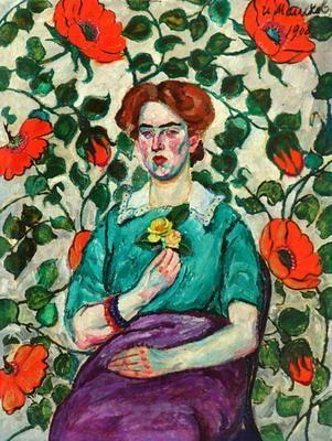 Portrait of a Woman. Minsk - Ilya Mashkov
