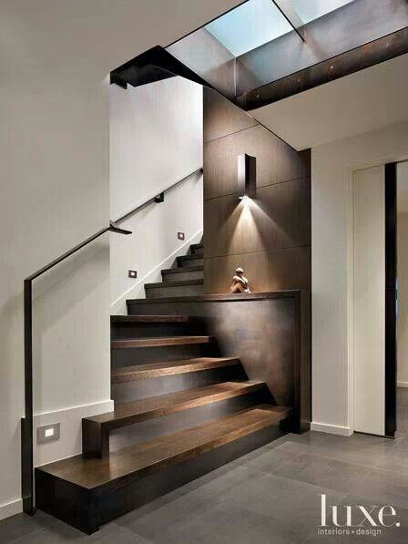 I prefer one story home.. If I had to have stairs in a house .. This would be the one