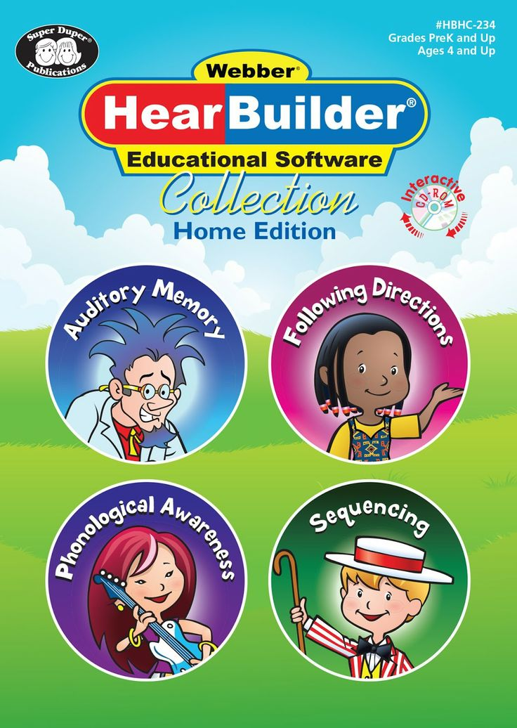Give Peas a Chance: HearBuilder Educational Software Collection Review